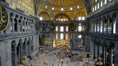 Istanbul Hagia sophia interior 638